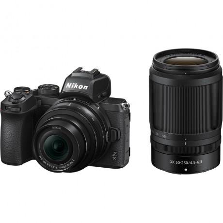 NIKON Z50 + 16-50 F/3.5-6.3 DX + 55-250 F/4.5-6.3 DX