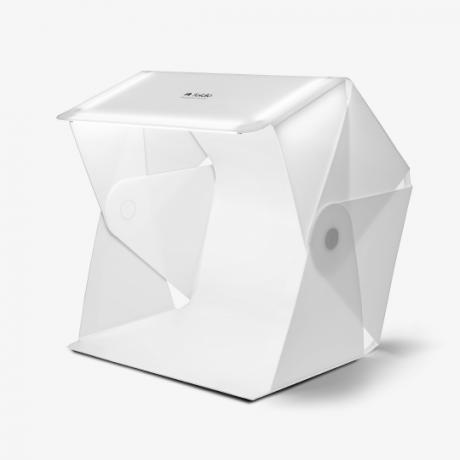 ORANGEMONKIE KIT CABINE FOLDIO 3 + PLATEAU 360° + HALO BAR