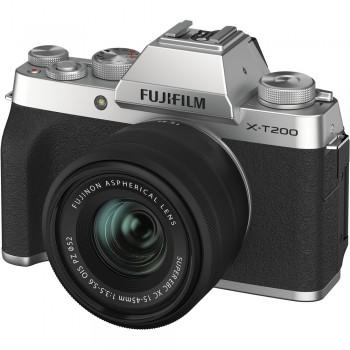 FUJI X-T200 SILVER + XC...