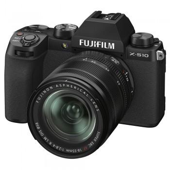FUJI X-S10 NOIR + XF 18-55...